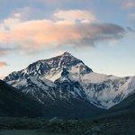 Everest At Dusk, from Rongbuk Monastery