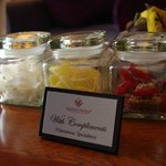 Complimentary sweets