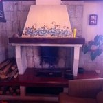 Fireplace in the Coffee House