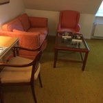Siting area in room 414