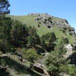 Up the hill behinda La Iruela
