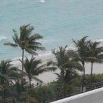 Vista de la playa desde nuestra habitacion