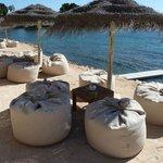 Relaxing seats Babylon beach bar