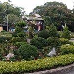 Nicely landscaped gardens