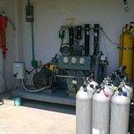 Compressor, Fill and Tank storage