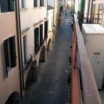 Vista sulla via C. Battisti