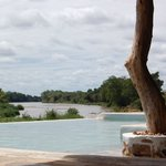 The Swimming Pool overlooking the River