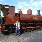 My steam engine for the day - An 0-6-0 side tank built in 1883 by Kitson and Co.