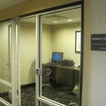 Business center, Hampton Inn, Reno, Nevada