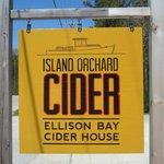 Island Orchard Cider