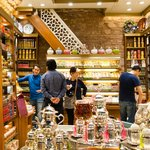 At the Spice Market buyingTurkish Delight