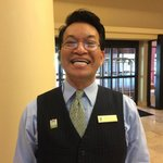 Bobby is wonderful.  He is a jewel in this hotel's crown.