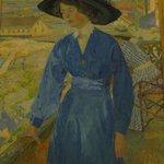 Carl Wilhelmson: Girl in Blue