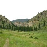 "Hiking the ""Pipestone Canyon Trail"""