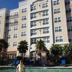 Marriot Residence Inn de Newark avec piscine