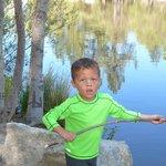 Kids playing at Lake Fulmore