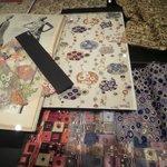 образцы тканей по картинам Климта