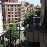 Looking toward Sagrada Familia