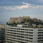 A view of the Acropolis from Dining room