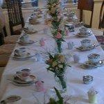 tearoom table