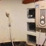 Ducha electrica del baño del Cottage