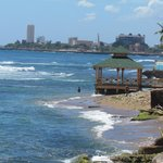 Santo Domingo malecon view from Adrian Tropical