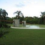 Fountain on Lagoon Side