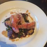 Sea Salt crusted Lobster, beef tenderloin