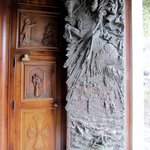 Stunning bronze door