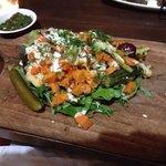 Amazing vege dish - eggplant & roast vegetables