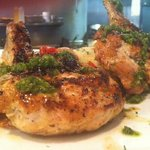 Chimichurri Chicken - chicken breast with summer squash & couscous
