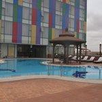 Piscina do Hotel Convenções Talatona-Luanda