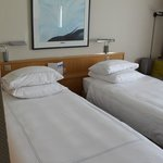 Our very comfortable twin beds
