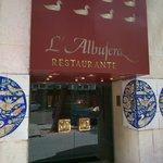Entrada al restaurante L'Albufera