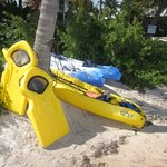 Kayaks and other equipment for your use