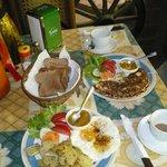 Swabian breakfast
