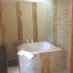 Japanese Soaking Tub in room