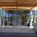 Entrada do hotel Hilton Windhoek-Namíbia