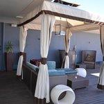 Terraço no último piso no hotel Hilton Windhoek-Namíbia