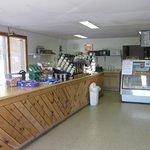 Coffee area & Deli counter