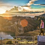 Kelimutu - Crater Lake Volcano - Ende - Flores - Indonesia - Wandervibes - view from statue