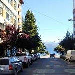 vista desde el hotel (calle Rolando
