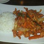 Red Pepper Soy Chicken