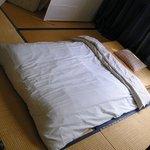 Japanese style futon dormitory