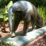 Anteater sculpture at Brookgreen Gardens, an amazing and wonderful attraction. :)