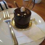 カフェでしか食べられないチョコレートムース
