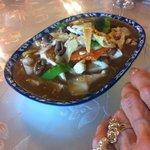 Schönne Suppe mit Pilzen und mehr