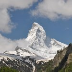 View of the Matterhorn from our balcony