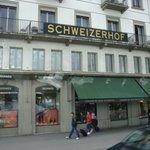 Front of Hotel Schweizerhof