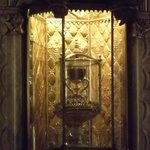 """Santo Graal"" exposto no altar da Capela interna da Catedral de Valencia"